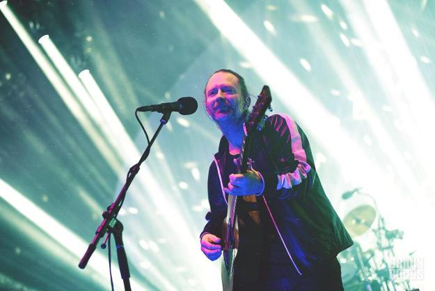 Radiohead at the Santa Barbara Bowl shot by Danielle Gornbein