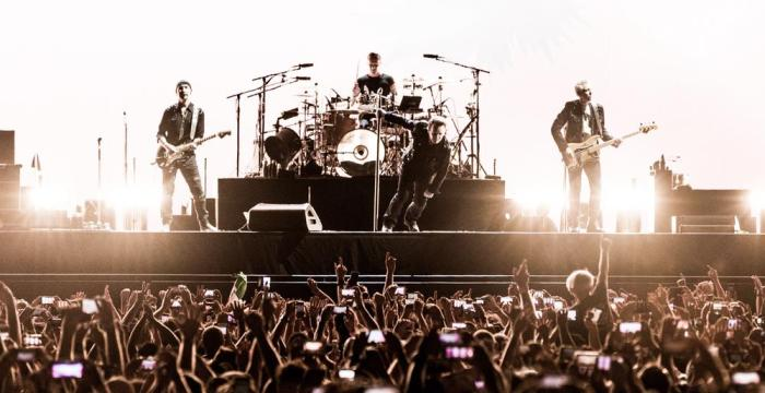 U2 at the Rose Bowl -- Photo by Wes Marsala