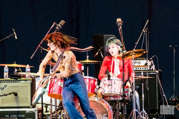 The Lemon Twigs at the Hollywood Bowl shot by Danielle Gornbein