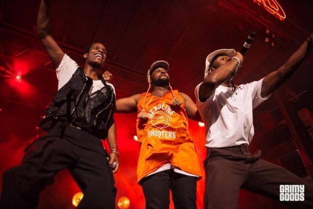 Budland A$AP Rocky, Schoolboy Q, & Tyler the Creator