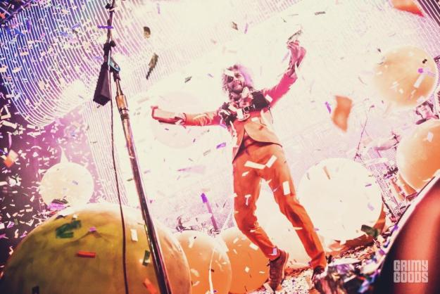 The Flaming Lips at the Fox Theater Pomona shot by Danielle Gornbein