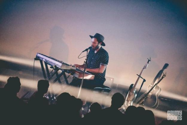 James Vincent McMorrow at the Masonic Lodge at Hollywood Forever shot by Danielle Gornbein