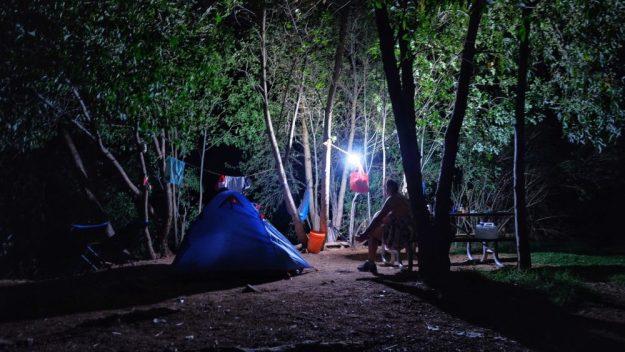 Havasupai Falls camping campground