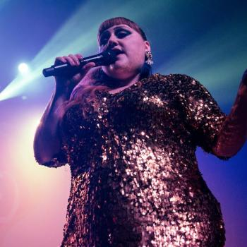 Beth Ditto at Fonda Theatre -- Photo: David Fisch