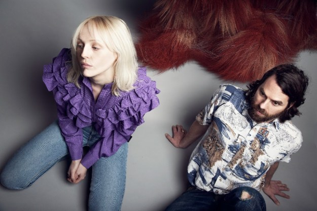 LUMP (Laura Marling and Mike Lindsay) photo credit Mathew Parri & Esteban Diacono