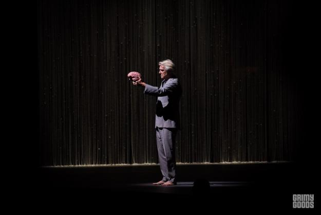 David Byrne at Shrine Auditorium los angeles