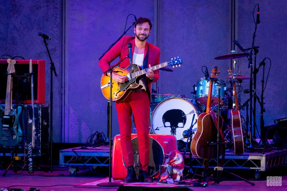 Shakey Graves at The Hollywood Bowl -- Photo by ZB Images