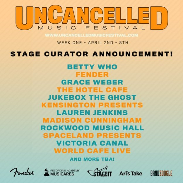 uncancelled music festival