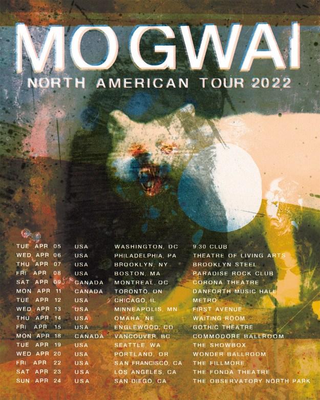 MOGWAI announces North American tour in 2022