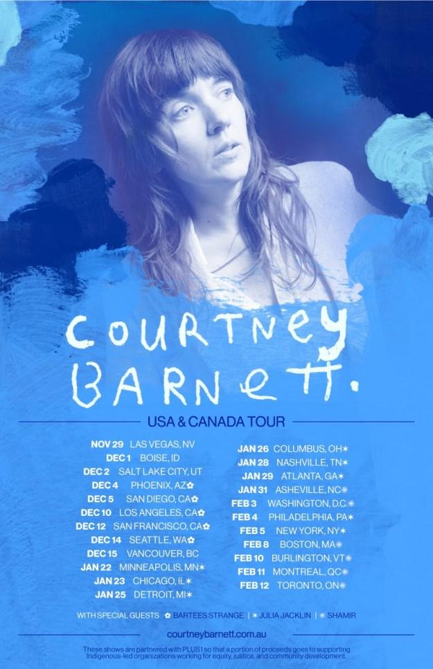 courtney barnett 2021 tour