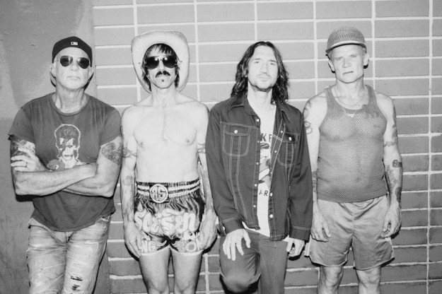 Red Hot Chili Peppers 2022 stadium tour
