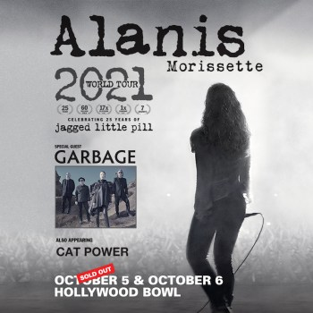 Alanis Morissette at Hollywood Bowl