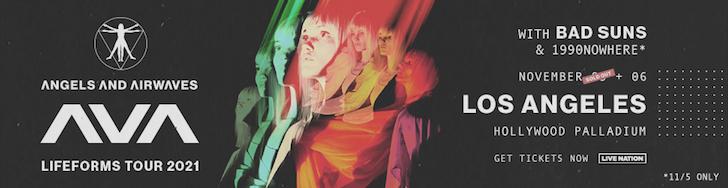 angels and airwaves with band suns at palladium nov 6