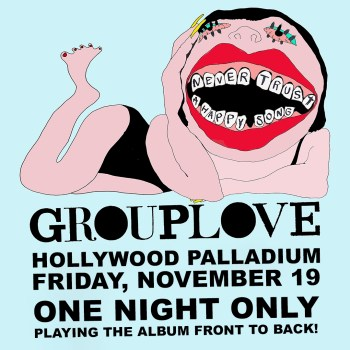 Grouplove at Hollywood Palladium