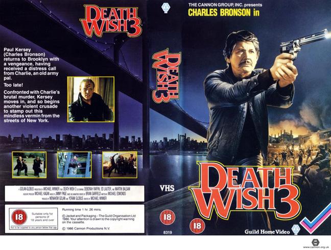 Death Wish 3Press Kit The Grindhouse Cinema Database