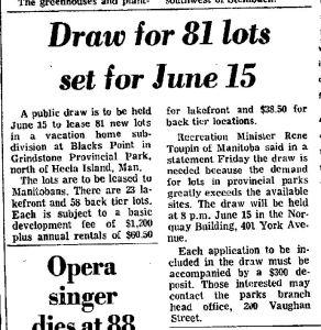 1976 lot draw