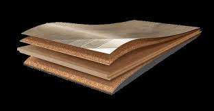 Engineered cork floors