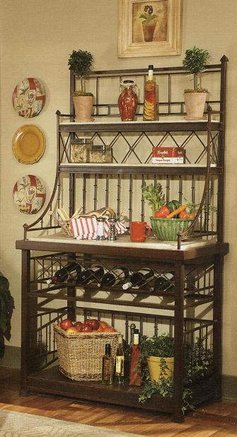 kitchen classic bakers rack