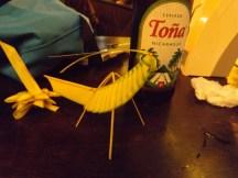 Corn Husk Insect and Tona Beer Granada, Nicaragua