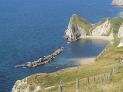 Back of Durdle Door