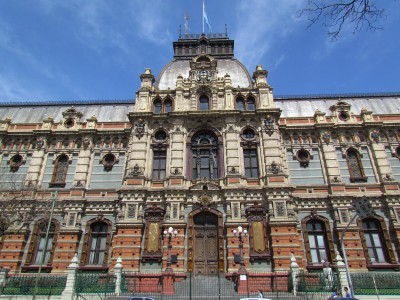 Main Entrance, El Palacio de Aguas Corrientes