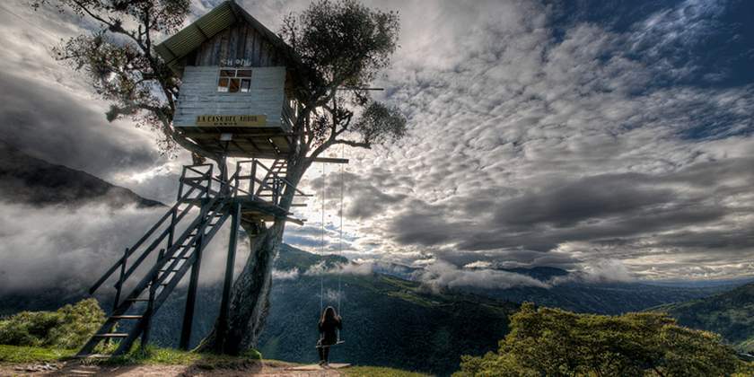 8 awesome things to do in ba os ecuador gringo tree for Casa del arbol cuenca