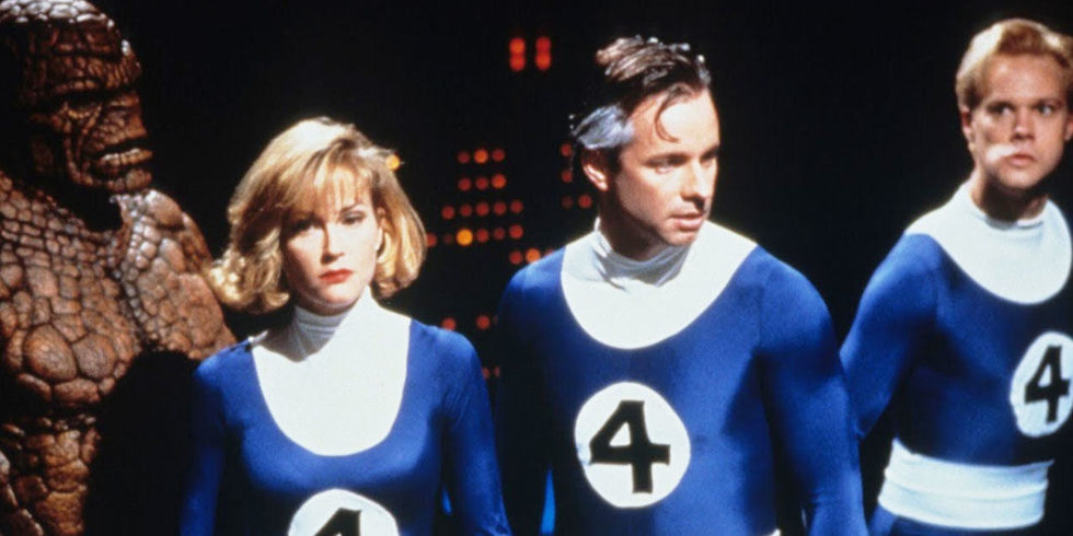 To Be Reviewed: The Fantastic Four (1994)