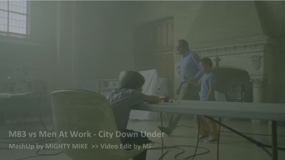 M83 vs Men at work – City Down Under