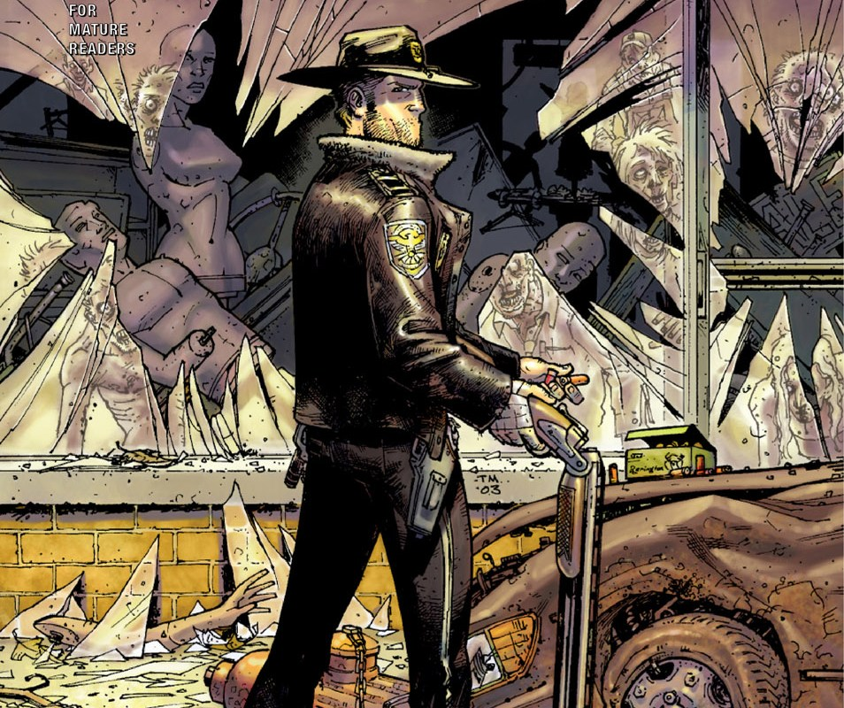 Comic: The Walking Dead #1 (2013)