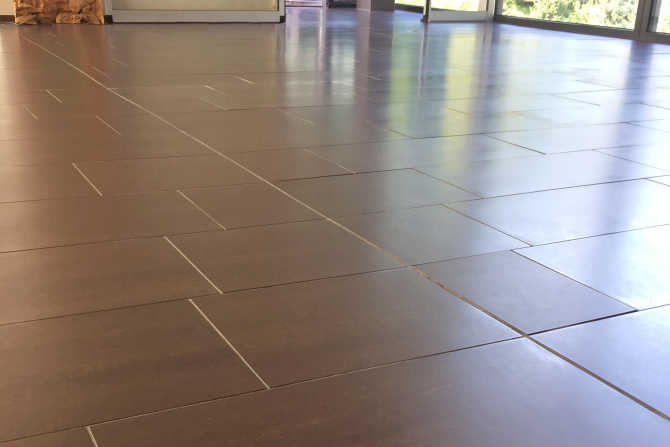 floor tiles in spa with slip resistance