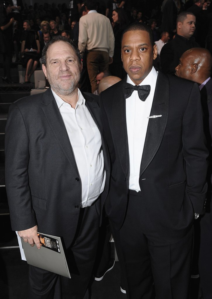 Jay Z and Harvey Weinstein