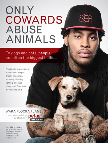 waka-flocka-flame-only-cowards-abuse-animals-ad