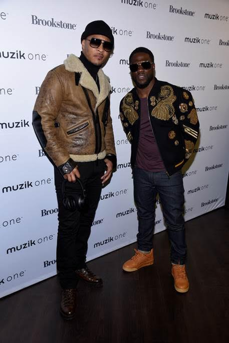 T.I. and Kevin Hart