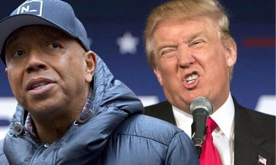 donald trump and russel simons