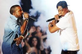 Jay Z and Kanye