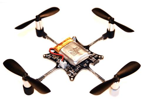 The Crazyflie Nano Quadcopter.