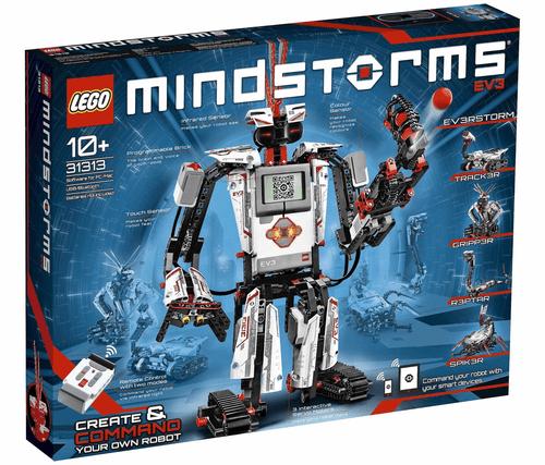 The Lego Mindstorms kit.