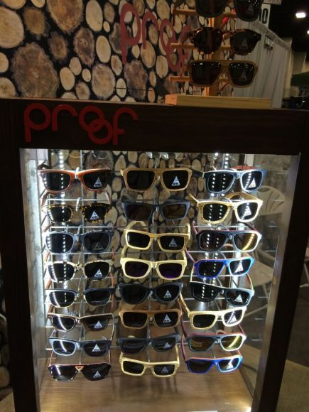 Proof Brand Wood Glasses