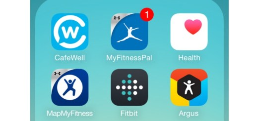 Fitness Apps - iOS Screenshot
