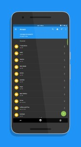 amaze file manager android dosya yöneticisi
