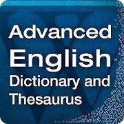 advanced english dictionary and theasurus android ingilizce sözlük uygulaması