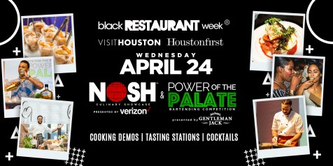 NOSH and Power of The Palate- Houston Black Rest Week - Gristle and Gossip