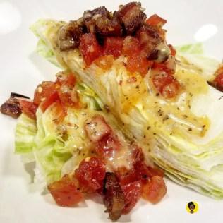 Wedge Salad, smoked mushroom ,tofu Vinaigrette