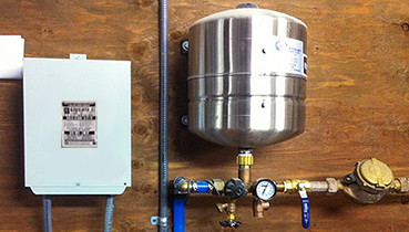 constant pressure system installation ct