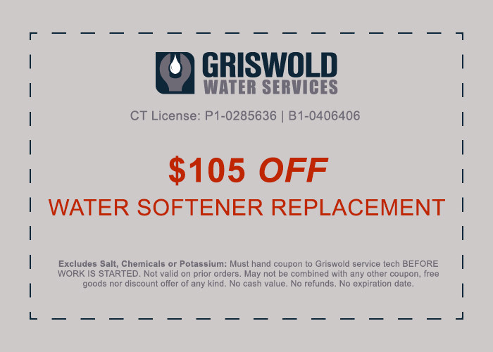 water softener installation discount ct