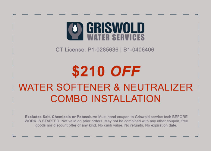 water softener and neutralizer installation discount ct