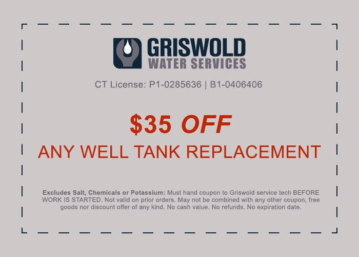 well tank installation discount ct