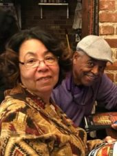 Sister Janice and her husband Warren. They helped Agnes with college expenses