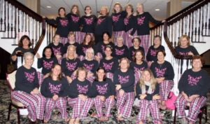 Breast Cancer Survivors at the retreat – the ladies who inspire me every day