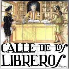 Azulejo Calle de Libreros